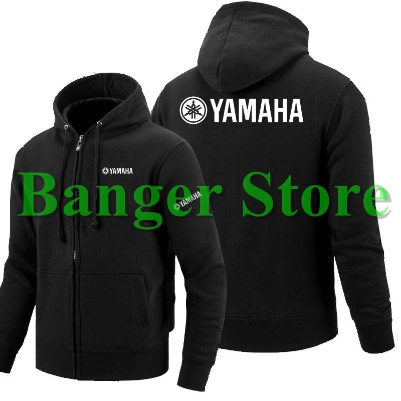 1c4f854a4 3 estilos Outono novas hoodies dos homens logotipo do motor YAMAHA zipper  Moletons moda Casual Com Capuz Zipper Jaqueta de moletom com capuz de  Algodão Fino ...