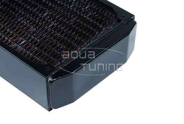 Fila freddo del radiatore di rame Alphacool NexXxoS XT45 Pieno di Rame 360 millimetri