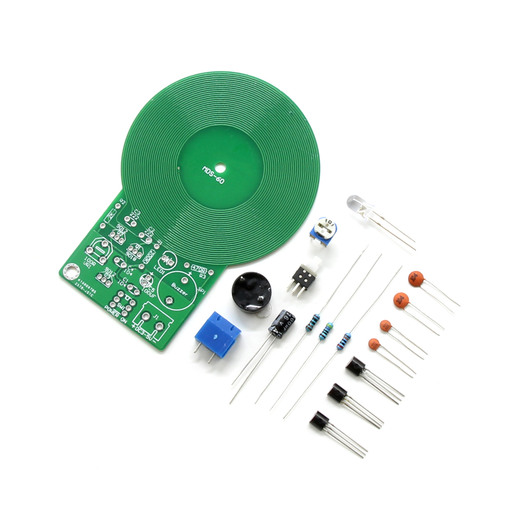 Diy Kit Metal Detector Electronic Dc 3v 5v 60mm Non Contact Circuit Boards Sensor Pcb Board Module Part In Integrated Circuits From