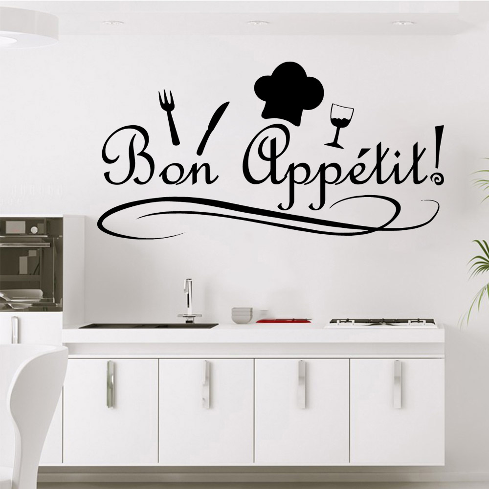 American-Style Kitchen Wall Sticker Pvc Removable Living Room Children Nordic Style Home Decoration