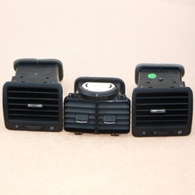 1 Set Left & Right & Rear Car Air Conditioning Outlet Vents For VW Jetta Golf MK5 Rabbit 1KD 819 203 1KD 819 703 1KD 819 704