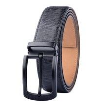 Male Genuine Leather Belt Designer Alloy Pin Buckle Men's Belts Leather Belts For Men High Quality Men Belt Straps Free Shipping