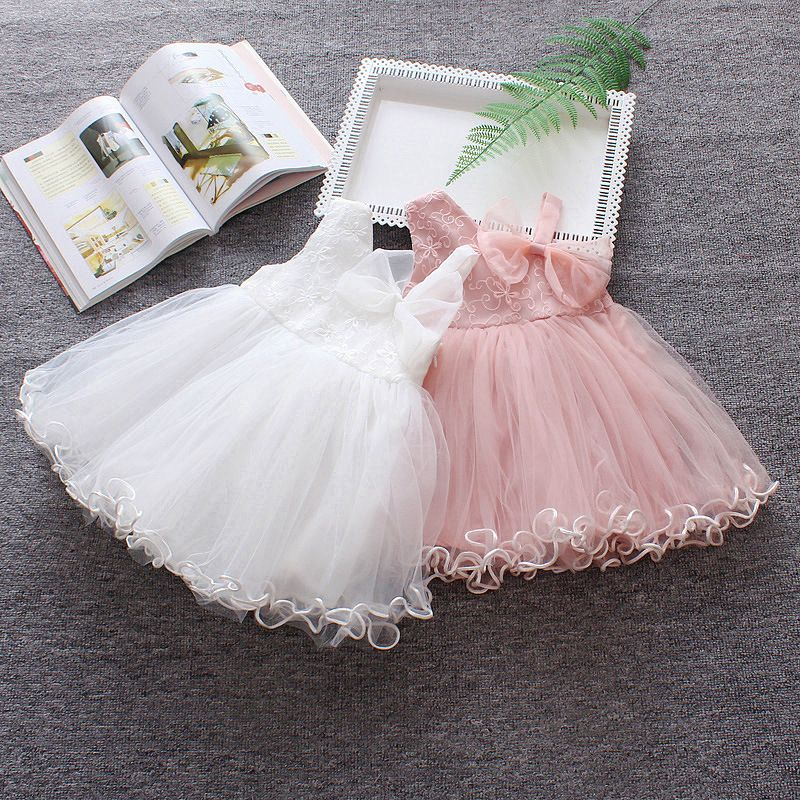 FANCYINN Vintage Baby Girl Dress Baptism Dresses for Girls 1st Year Birthday Party Wedding Christening Baby infant ClothES Bebes