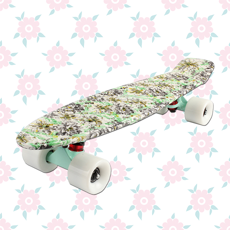 Livraison gratuite skate street board skateboard camions quatre roues longboard banane poisson skate board mini cruiser longue planche à roulettes - 4