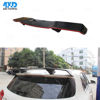 A Class W176 carbon spoiler R Style For Mercedes A45 AMG Carbon Roof spoiler Paint with Red Line 2013 2014 2015 2016 2017 2018+ image