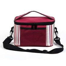 2017 Oxford cloth Lunch Bag bolsa termica Shoulder  Insulation Picnic Bag Thermal Cool sac isotherme Bag refrigerator Thermo bag
