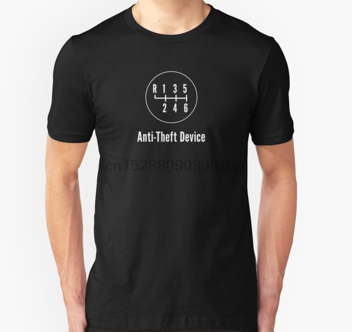 Fitness Men Tshirt Manual Transmission Anti Theft Device Letter T Shirt Women T-Shirt Crewneck Short Sleeve Camisa