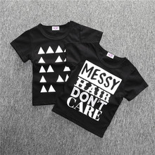 For little girls boys summer T-shirt for girls fashion cotton T-shirt Children's T-shirt Tops New arrival 2017 SY092