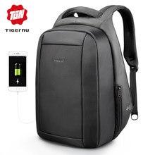 16f947355e3df Tigernu ukryte Anti theft zamek 15.6 cal mężczyźni szkoła plecaki na  laptopa wodoodporny podróży 20L wielofunkcyjna