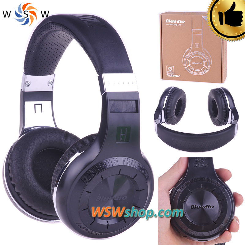 ФОТО 100% Blue dio HT Bluetooth Headset Wireless Bluetooth 4.1 Stereo Headphone With Mic Fone De Ouvido Auriculares Cuffie Ecouteur