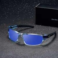 Marque DESIGN lunettes De soleil polarisées hommes pilote nuances mâle Vintage lunettes De soleil pour hommes carré lunettes UV400 Gafas Oculos De Sol