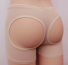5pcs/lot Butt Lifter Women Body Shaper Bum Lift Panties Buttocks Enhancer Boyshorts Hip pants women Dew buttocks underpants