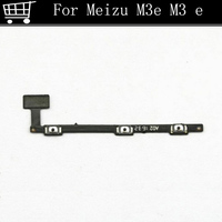 replacement power on/off and volume up/down key button flex cable For Meizu M3E Meilan M3 E Phone