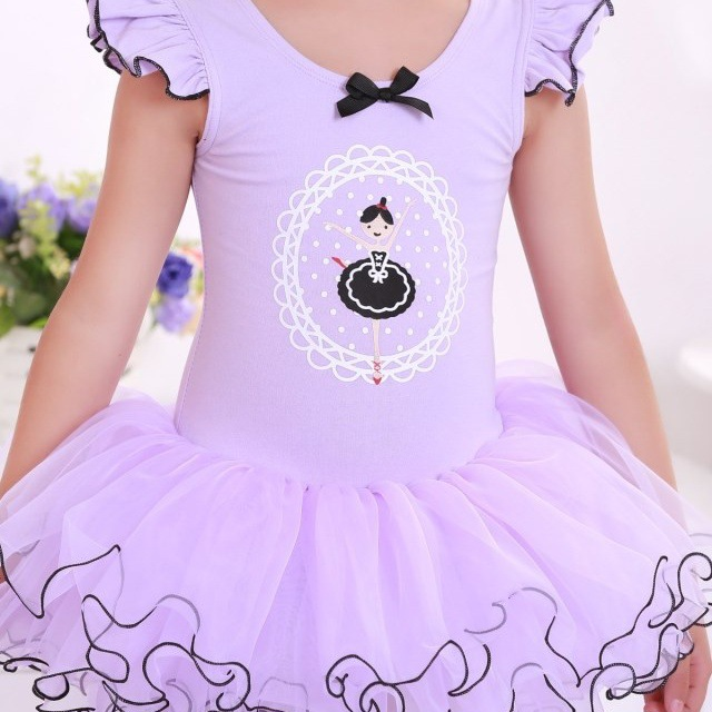 Ballerine enfants Tutu violet GcW5USi
