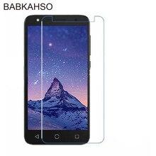 Vidrio Templado 9H para Alcatel U5 HD 5047 U3 3G Protector de pantalla de cristal para Alcatel One Touch X1 OT-7053D 7053D A5 LED OT5085D