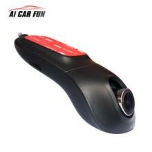 Ntk 96655 wifi cámara del coche dvr hd 1080 p IMX322 dashcam con dos cámaras grabadora de vídeo auto dash videocámara cam