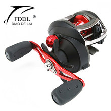 FDDL Max 8kg Drag Baitcasting Reel 12+1BB High Speed: 8.1:1 Left/Right Hand Lure Wheel Fishing Reel for Saltwater Carp Big Fish(China)