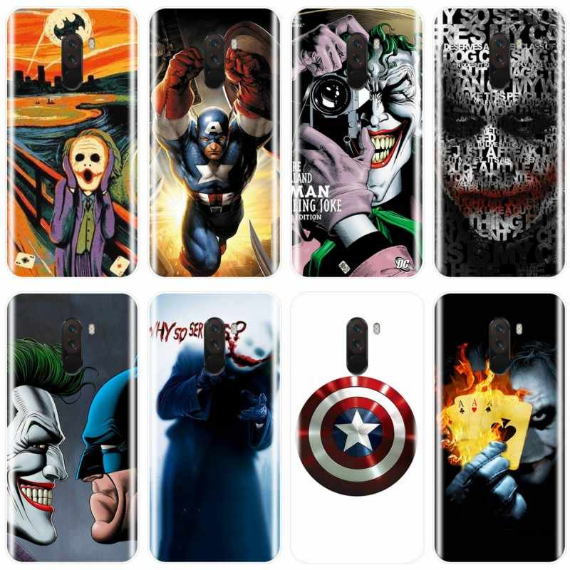 Af Joker Batman The Killing Joke CoverTPU Caixa Do Telefone Para redmi NOTA 4 5 6 7 NOTA 4X 5A 5 6 para redmi 4 4A 4X 5A 5 PLUS 6 pro 7