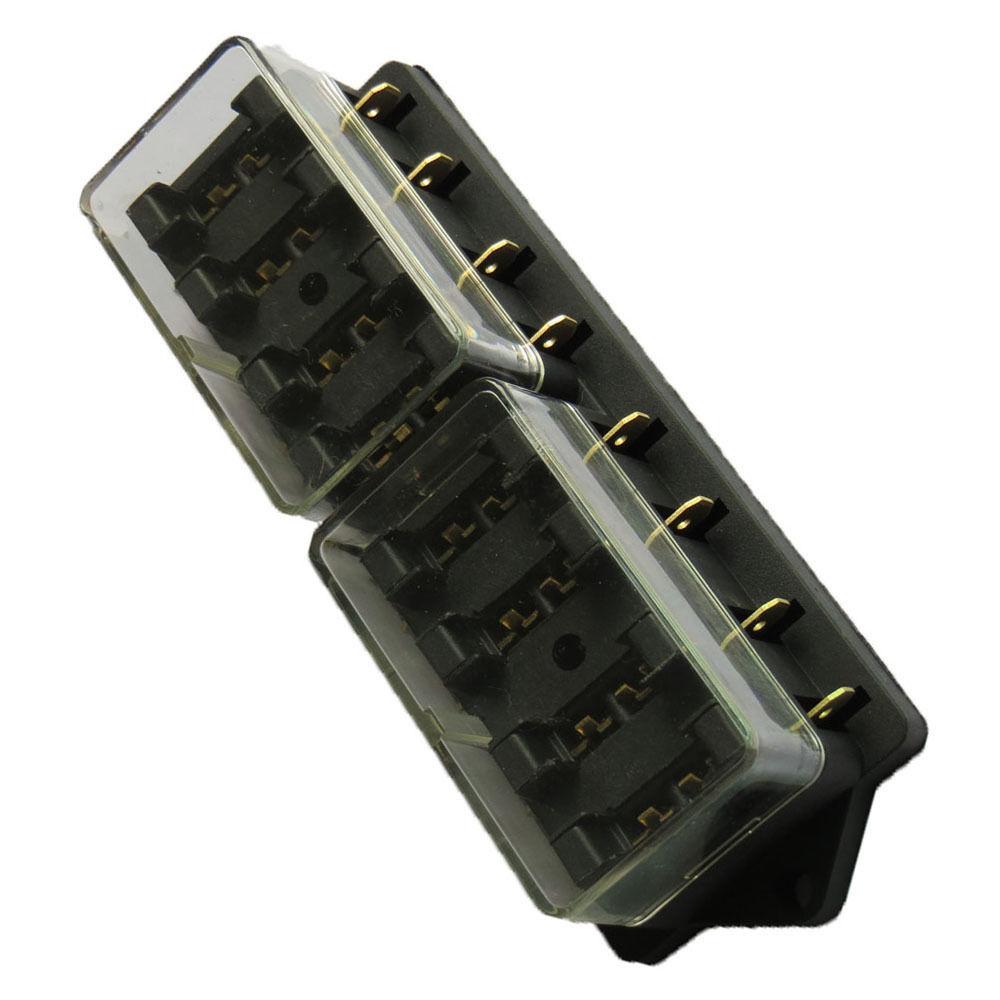 medium resolution of ee support car 8 way standard ato blade fuse box block holder plug socket 12v xy01