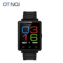 DT N° 1 G7 Teléfono Smartwatch BT GSM SIM 2G Inteligente reloj de la Pantalla Gorilla Glass Reloj Monitor de Ritmo Cardíaco para Andoid IOS