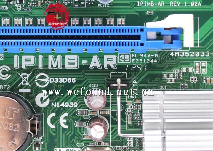 100% Working Desktop Motherboard For IPIMB-AR DX4870 1155 B75 DDR3 System Board Fully Tested