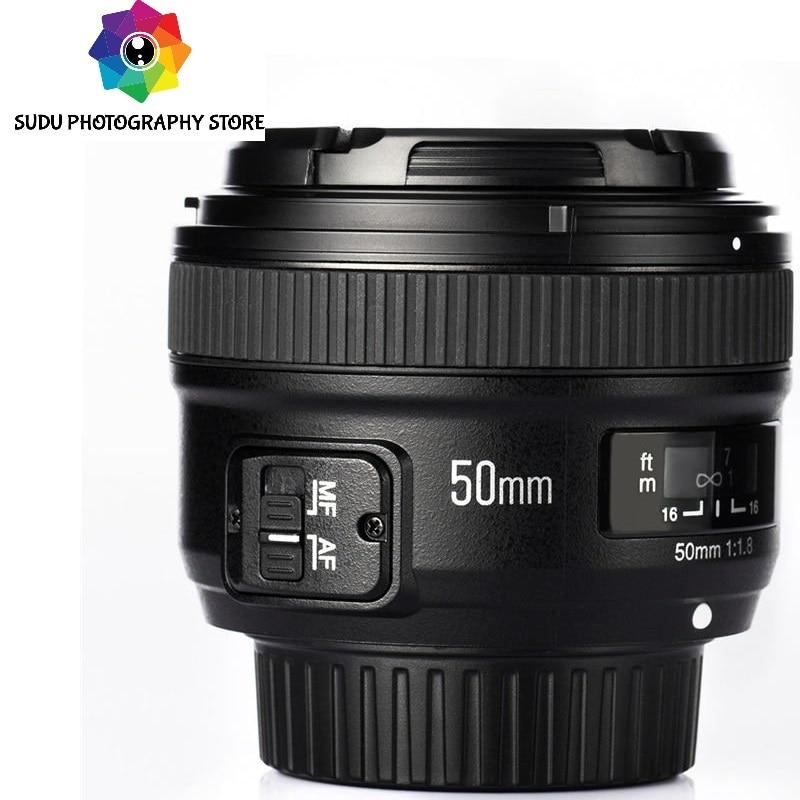 YONGNUO YN50mm F1.8 AF/MF objectif principal Standard pour Nikon nouvel objectif