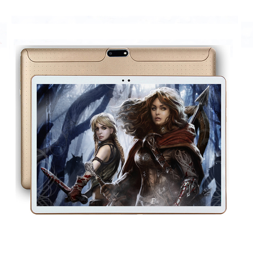 Free Shipping 2018 New 10 inch Octa Core Tablet pc 4GB RAM 32GB ROM 1280*800 IPS Screen Dual Cameras Android Tablet GPS недорго, оригинальная цена