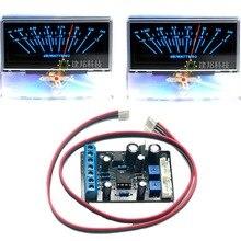 2pc P-97 VU Meter Audio Volume Unit indicator Peak DB Table Panel Level w/ BackLight & 1pc TA7318P Driver Board