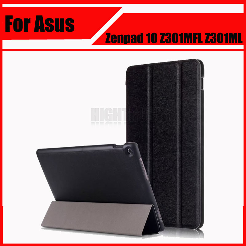 3in1 New High Quality Magnet Pu Leather Cover Stand Case for Asus Zenpad 10 Z301MFL Z301ML Tablet + Screen film + Stylus цена и фото
