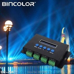 Image 2 - DC5V 24V Artnet Eternet do SPI/DMX pixel kontroler oświetlenia led wyjście 7Ax 4CH/3Ax16CH sterowanie 2801/2811/2812/APA102/2815 led strip