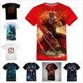 De alta Calidad 3D DOTA 2 Camiseta Fresca Morphling Terrorblade Shadow Demonio sf gigante camisetas hombre boy dota2 kael hero camiseta