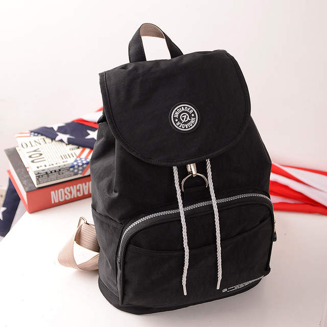 5ada2c0357 Online Shop Wholesale JINQIAOER Nylon Waterproof Backpack Women Bag School  Bags for girls Baby Mummy Bag mochila femina ZX043