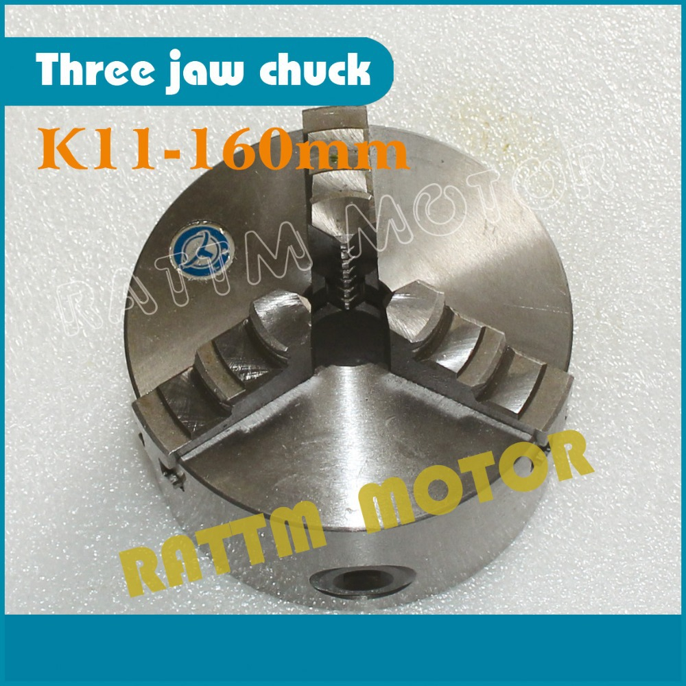 K11-160mm CNC tool Three jaw self-centering chuck 3 jaw Machine tool Lathe chuck k11 100mm three jaw self centering chuck 3 jaw chuck manual chuck machine tool lathe chuck