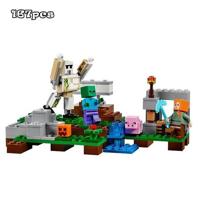 Online Shop Model Building Kits Compatible With Lego My Worlds - Minecraft maps fur kinder