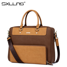 Sxllns Men's Shoulder Bag Brand Handbag Briefcases Laptop Tote Bag Men Messenger Bag Casual Vintage Travel Crossbody Bag