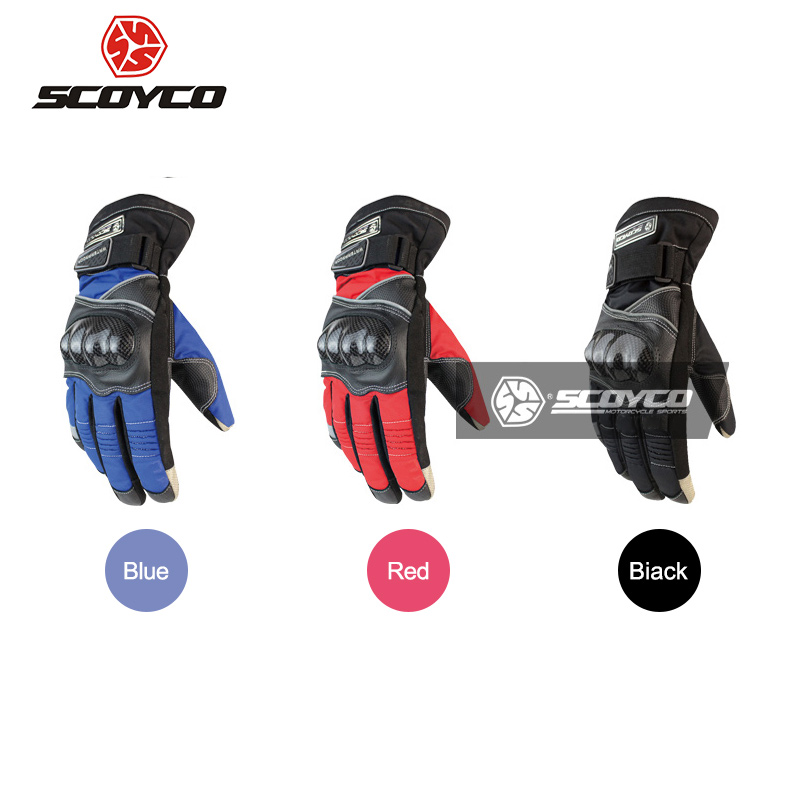 Car Motorcycle Full Finger Gloves Wearable Breathable Finger separated Protective Gloves Racing Offroad Motocross Touch Screen