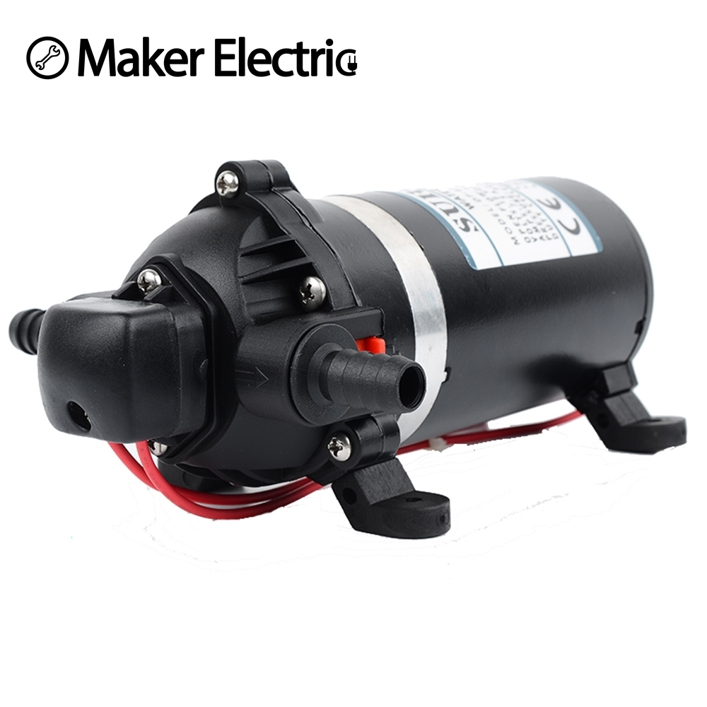 DP-100 DC 12v High Pressure Diaphragm Pump Reciprocating Self-priming RV Yacht Aquario Filter Accessories booster pump 12v dc boat accessory high pressure diaphragm water self priming pump l70323 drop ship