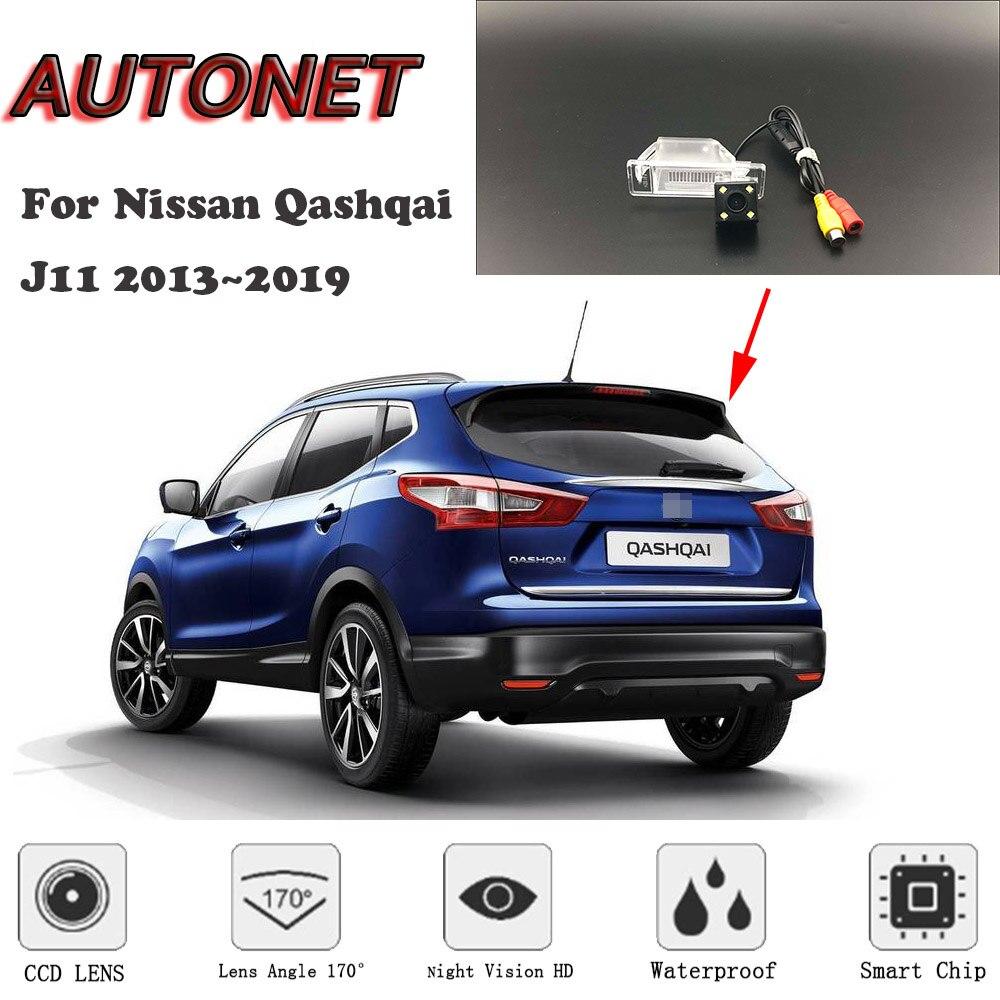 AUTONET HD Night Vision Backup Rear View Camera For Nissan Qashqai J11 2013~2019 CCD/Parking Camera/license Plate Camera