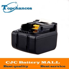 14.4V 3.0Ah 3000mAh Li-Ion Replacement Power Tool Battery for Makita BL1430 BL1415 194066-1 194065-3