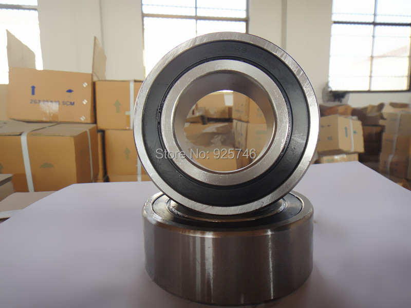 s5209 2RS s5209RS s5209-2RS Stainless Steel double row angular contact ball bearings s3209 2RS size:45X85X30.2mm s5211 2rs stainless steel double row angular contact ball bearings s3211 2rs size 55x100x33 3mm