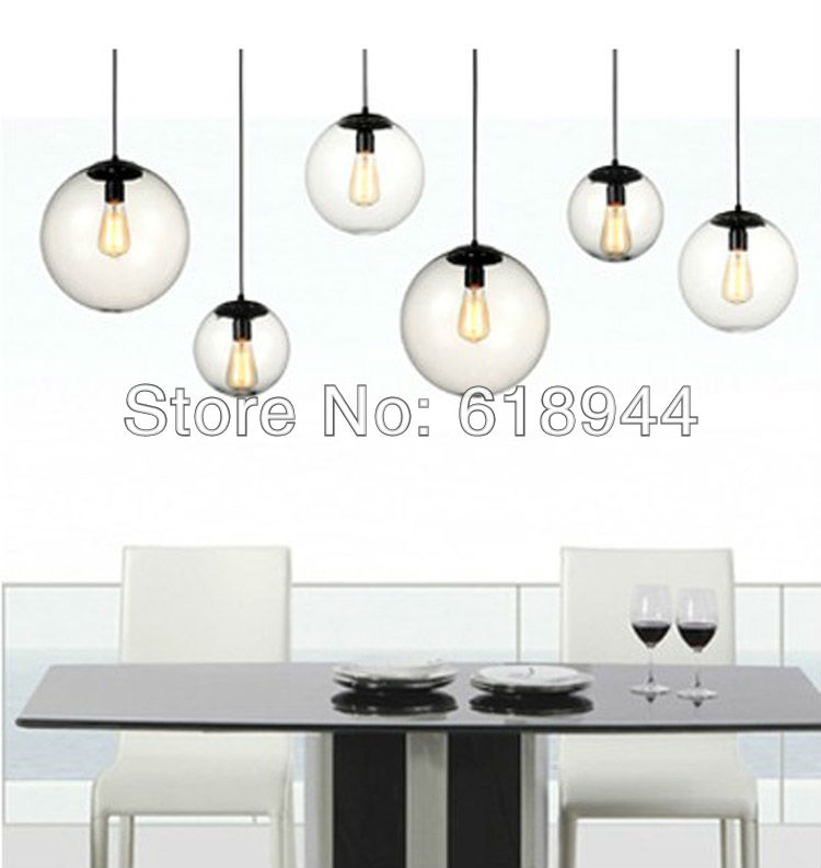 2013 Glass Modern Pendant Lights for Home Dining Room  Living Room , Single Pendant Lamp, Diameter 20cm E27 AC110-240V a1 master bedroom living room lamp crystal pendant lights dining room lamp european style dual use fashion pendant lamps
