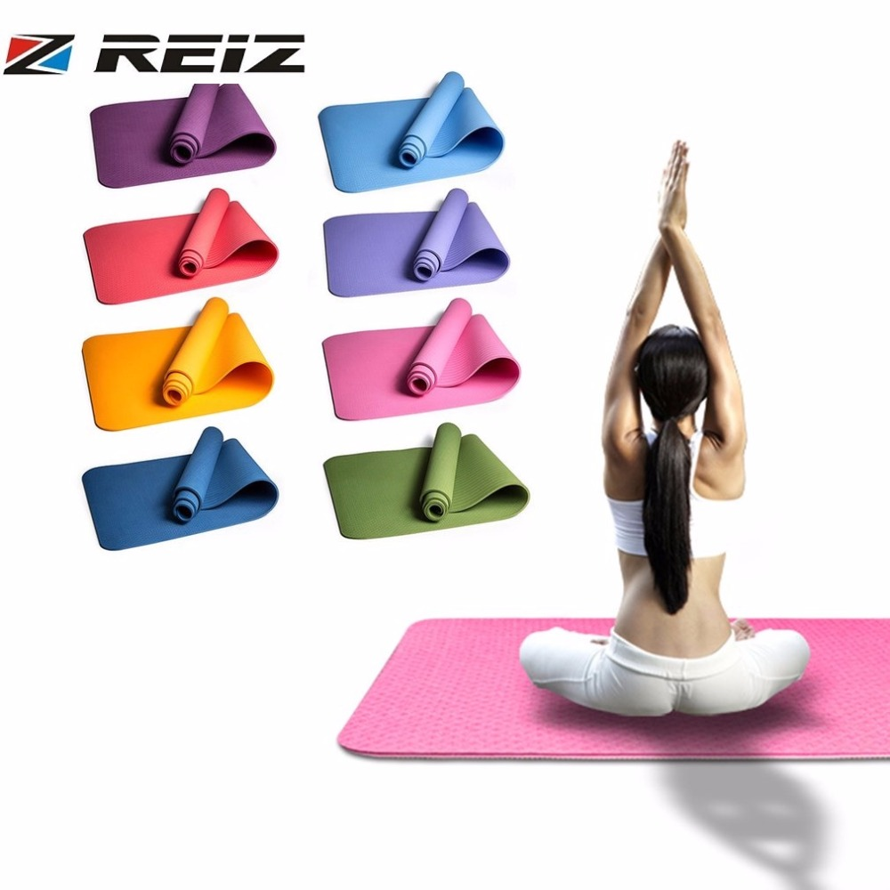 Good Workout Mat: Aliexpress.com : Buy 6mm Yoga Mat TPE Thick Non Slip Good