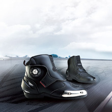 SCOYCO motorcycle boots motorbike racing boots cycling boots sport shoes moto ankle boots protective gear MBT003