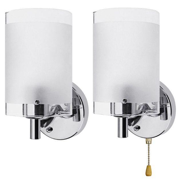 AC85 265V E27 LED duvar ışık Modern cam dekoratif aydınlatma aplik armatür lambası