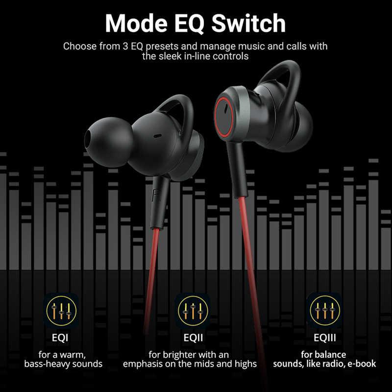 Nowy Langsdom L80 zestaw słuchawkowy Bluetooth słuchawki 3 trybów dźwięku EQ IPX6 wodoodporny Sport bezprzewodowe słuchawki fone de ouvido bluetooth