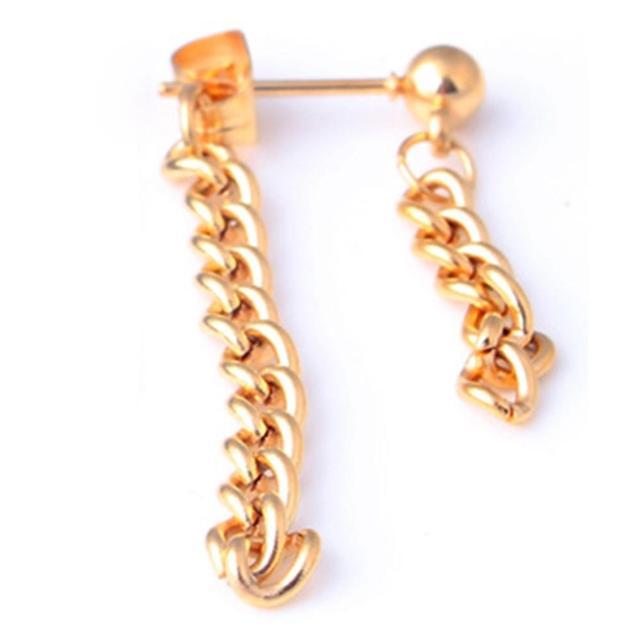 2pcs Simple Long Chain...