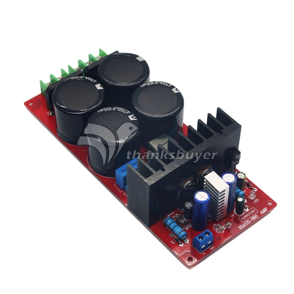 YJ IRAUD350 700W 4ohm Mono Audio Power Amplifier board Class D AMP board Assembled Amp