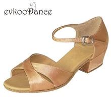 5 different black Silver flesh color Girls latin dance shoes kids 3cm low heel latin dance shoes woman NL037
