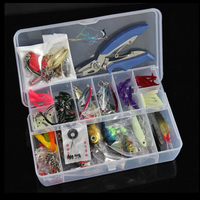 pcs Fishing Lures Set Mixed Minnow/Popper Fish Lure Spinner Spoon Cebo Grip Hook Isca Artificial Bait Kit Pesca Rated 4.9 /5 bas