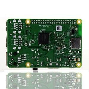 Image 2 - Raspberry Pi 3 Model B плата + 3,5 TFT Raspberry Pi3 ЖК дисплей с сенсорным экраном + акриловый чехол + радиаторы для Raspbery Pi 3 комплект